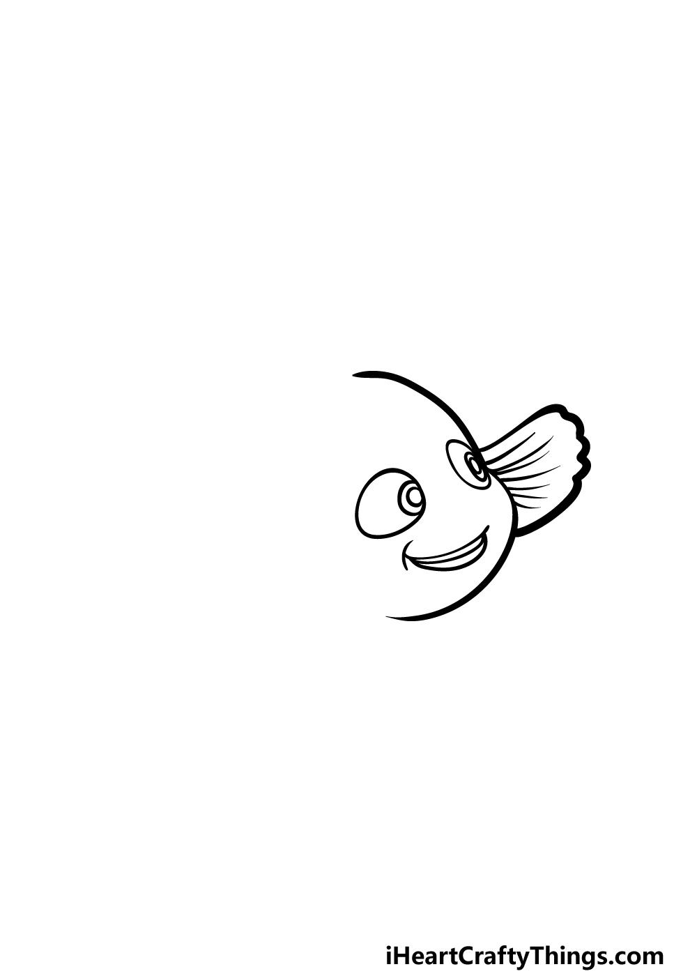 drawing Nemo step 2