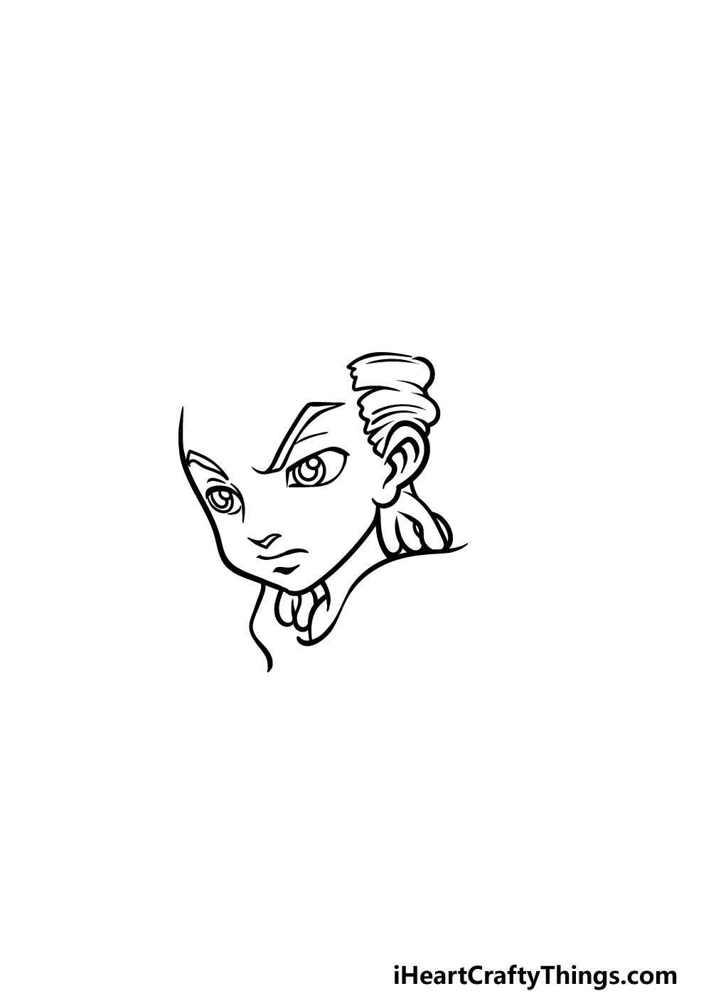 drawing Boondocks step 2