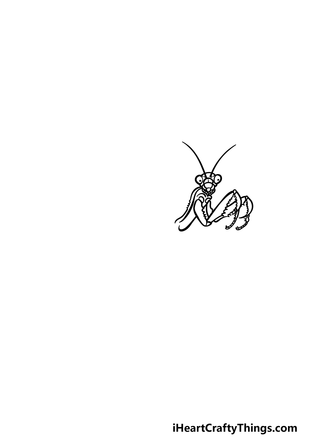 drawing an insect step 2
