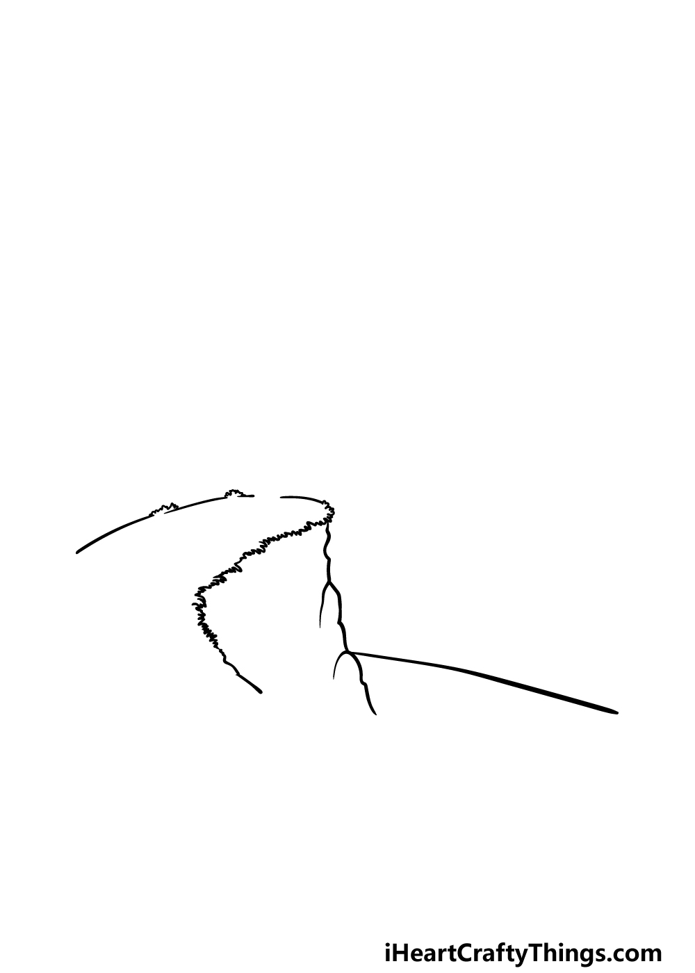 drawing a cliff step 2