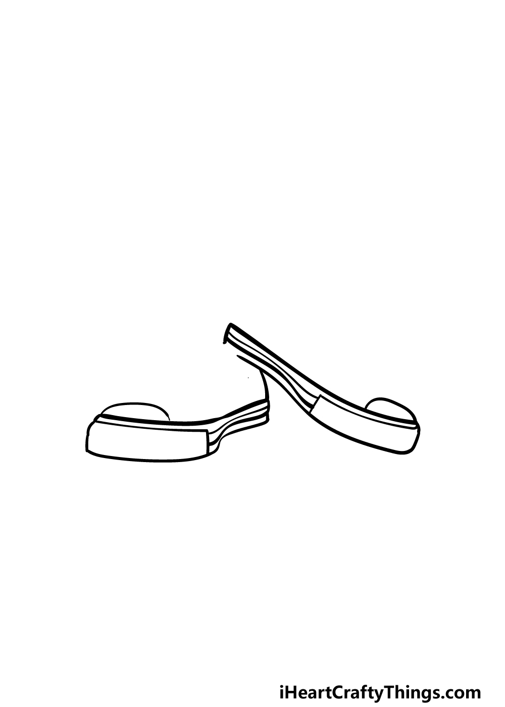 drawing converse step 2