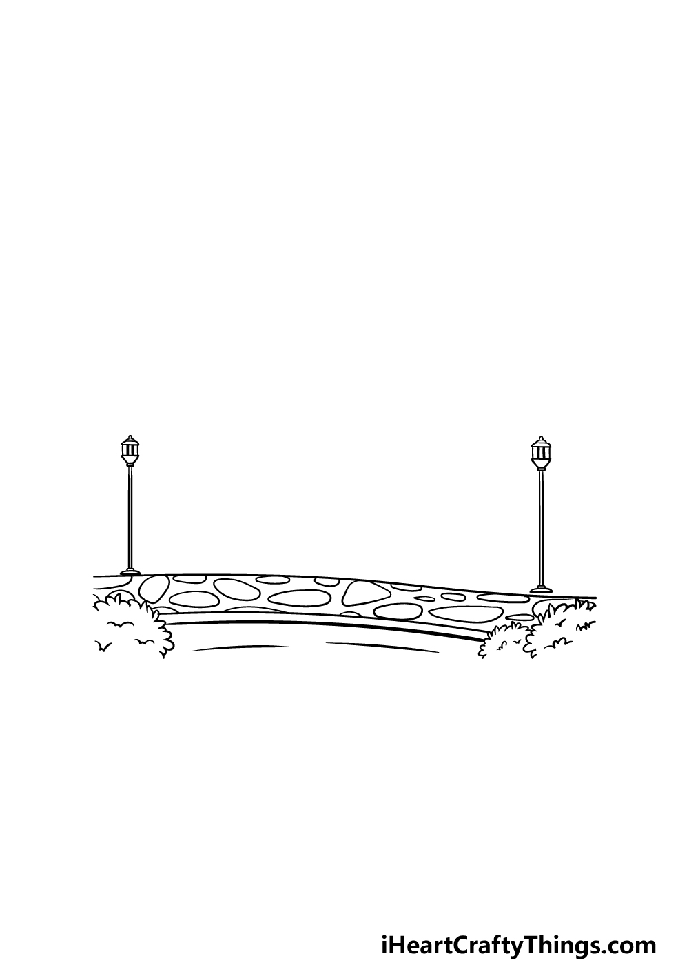 drawing a park step 2