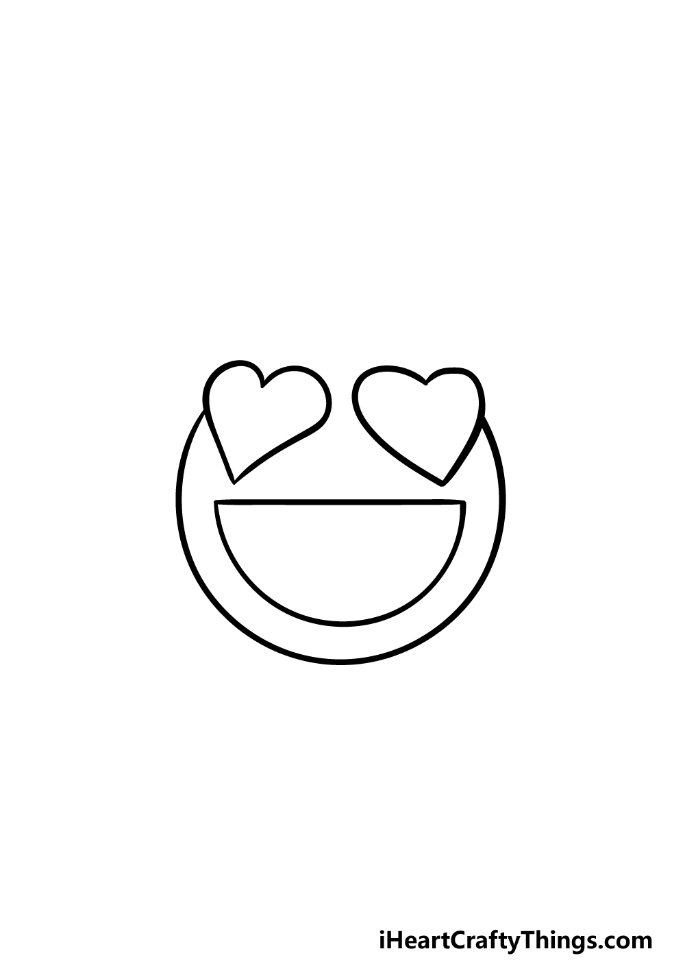 drawing emoji step 2