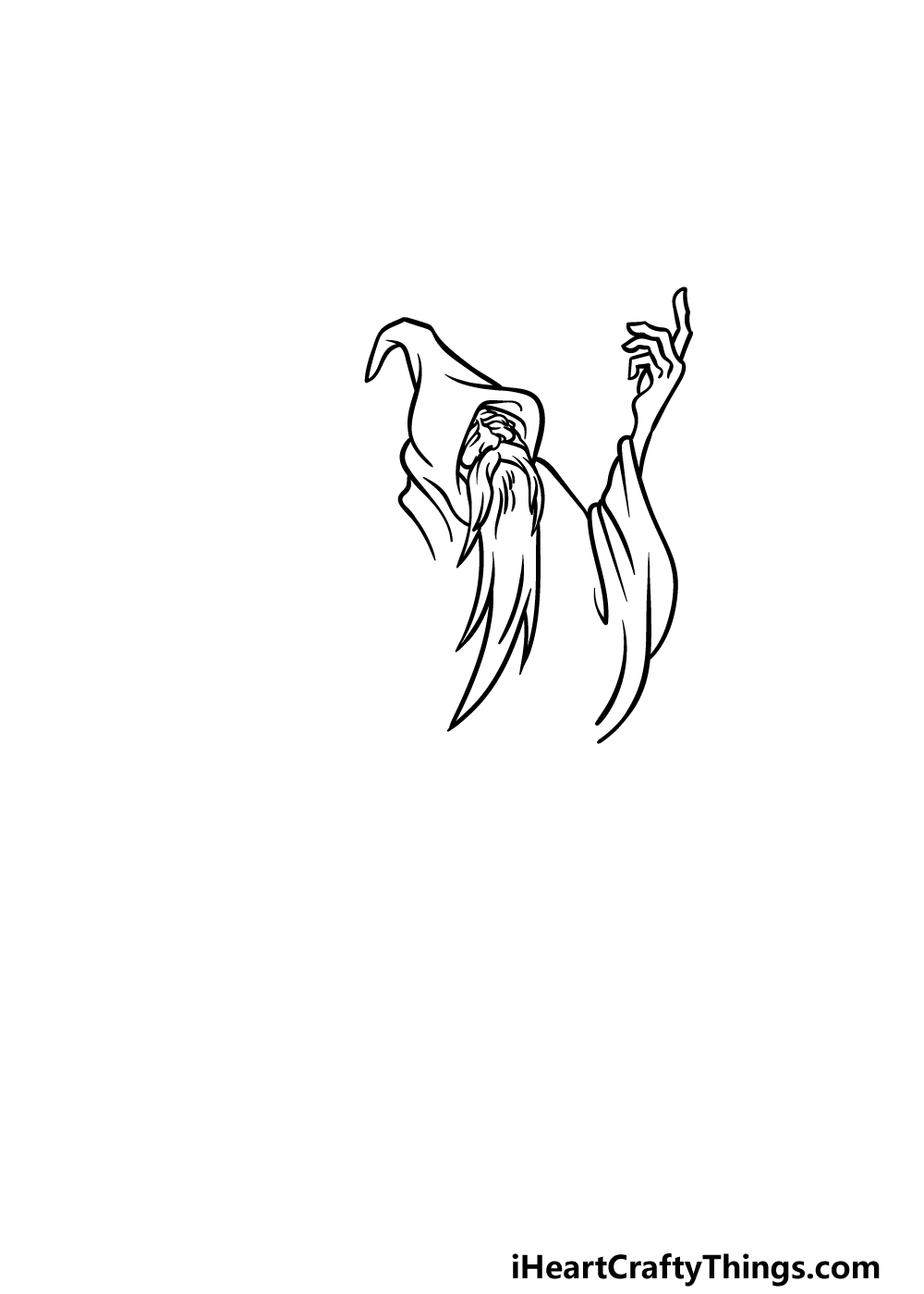 drawing a wizard step 3
