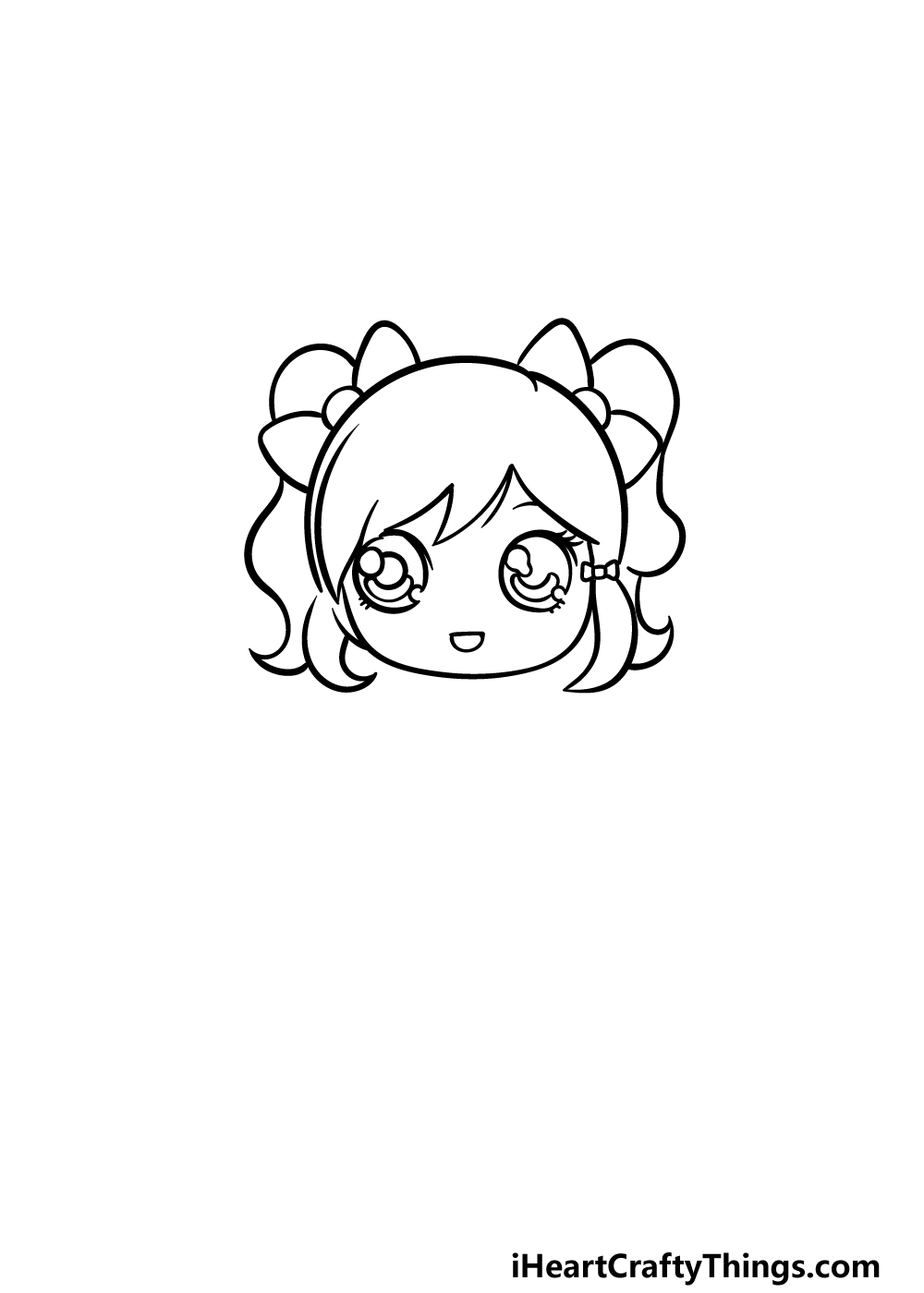 drawing a doll step 3