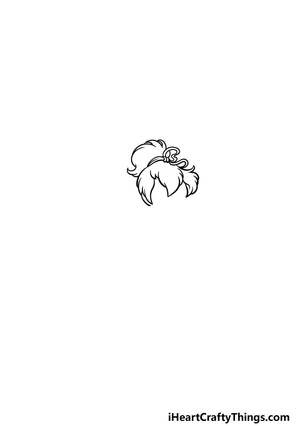 drawing Tinkerbell step 3