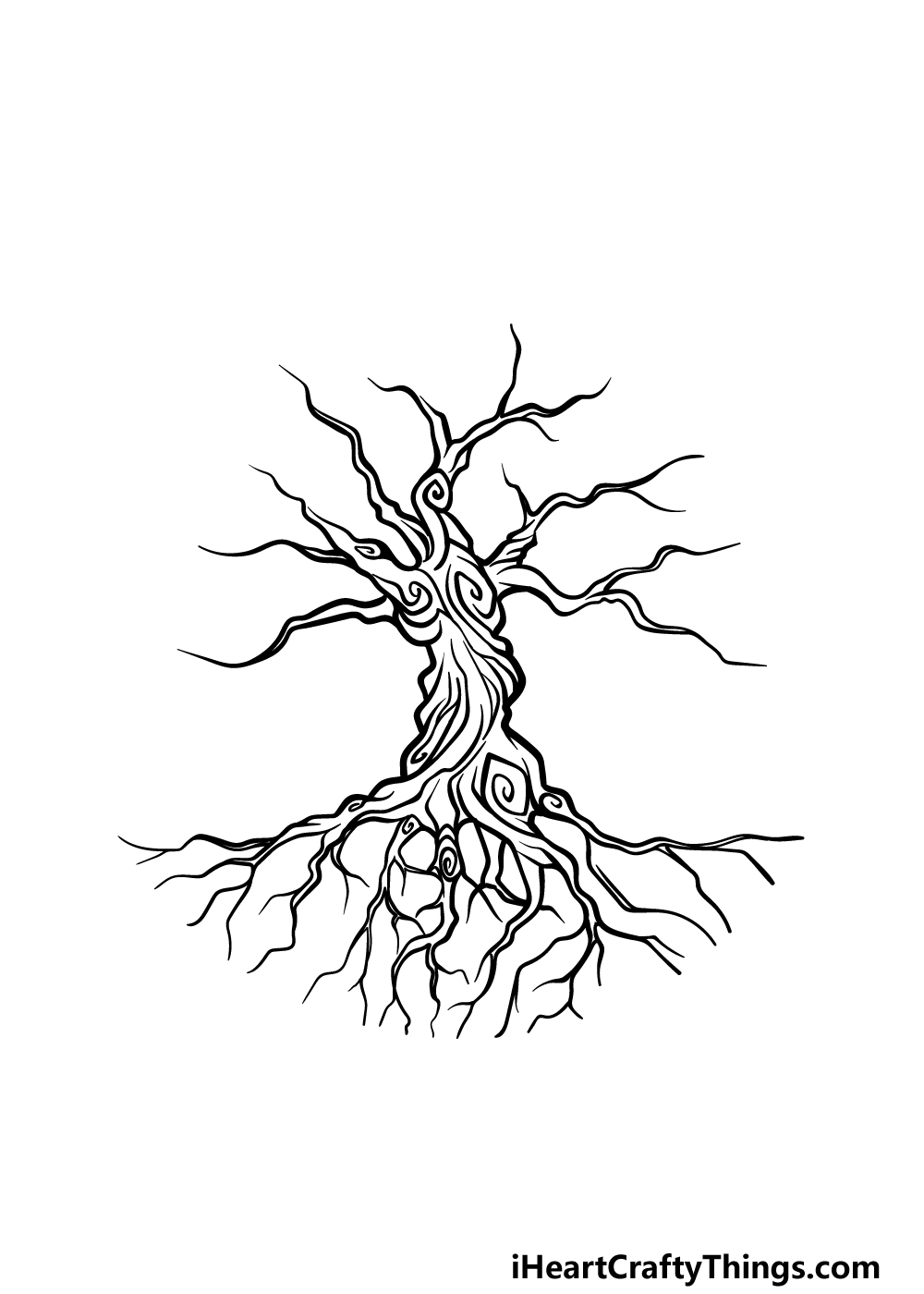 drawing the tree of life step 3