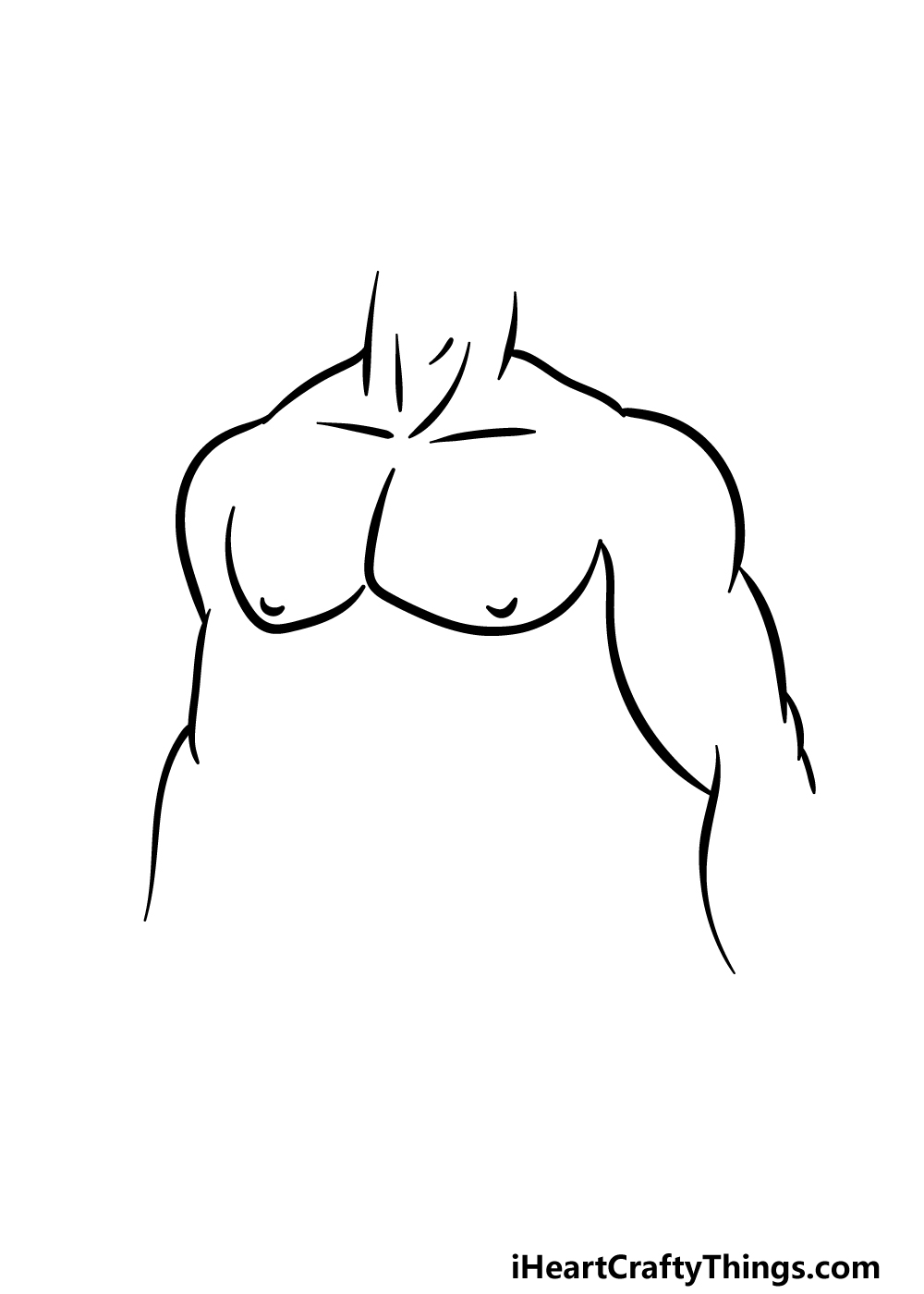 drawing abs step 3