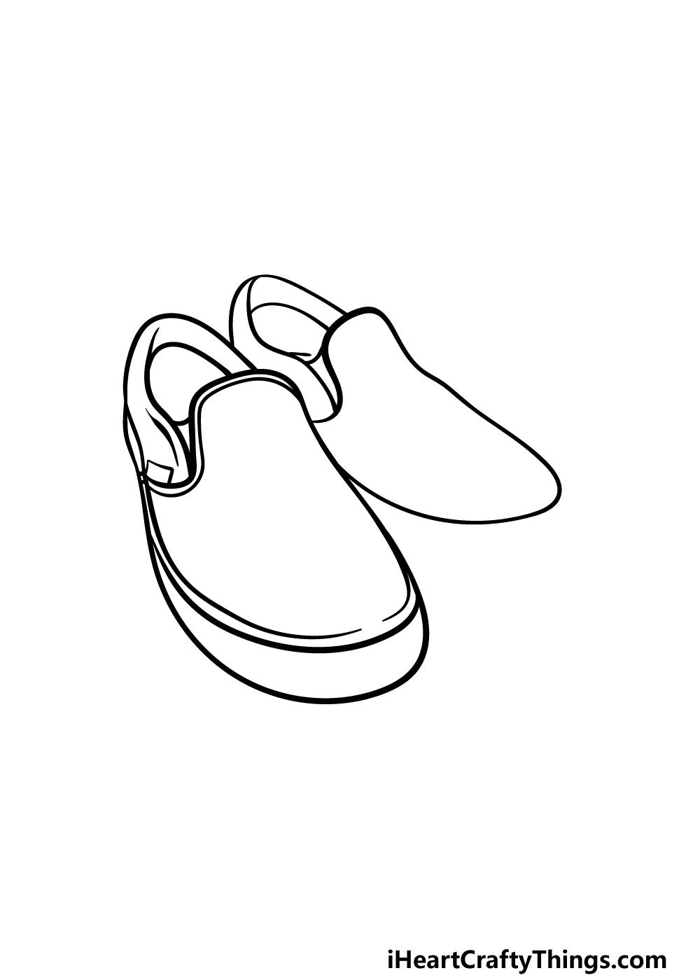 drawing vans shoes step 3