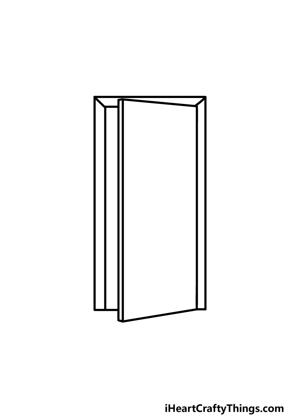 drawing a door step 3