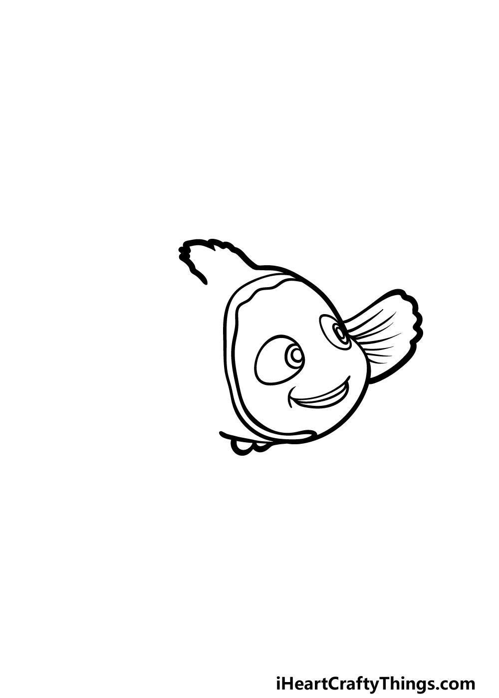 drawing Nemo step 3