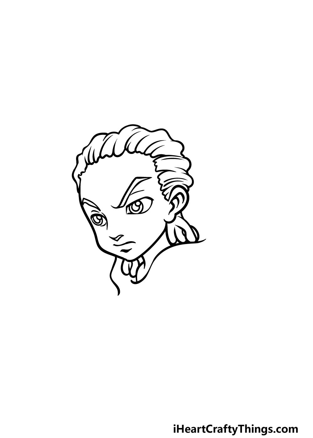 drawing Boondocks step 3
