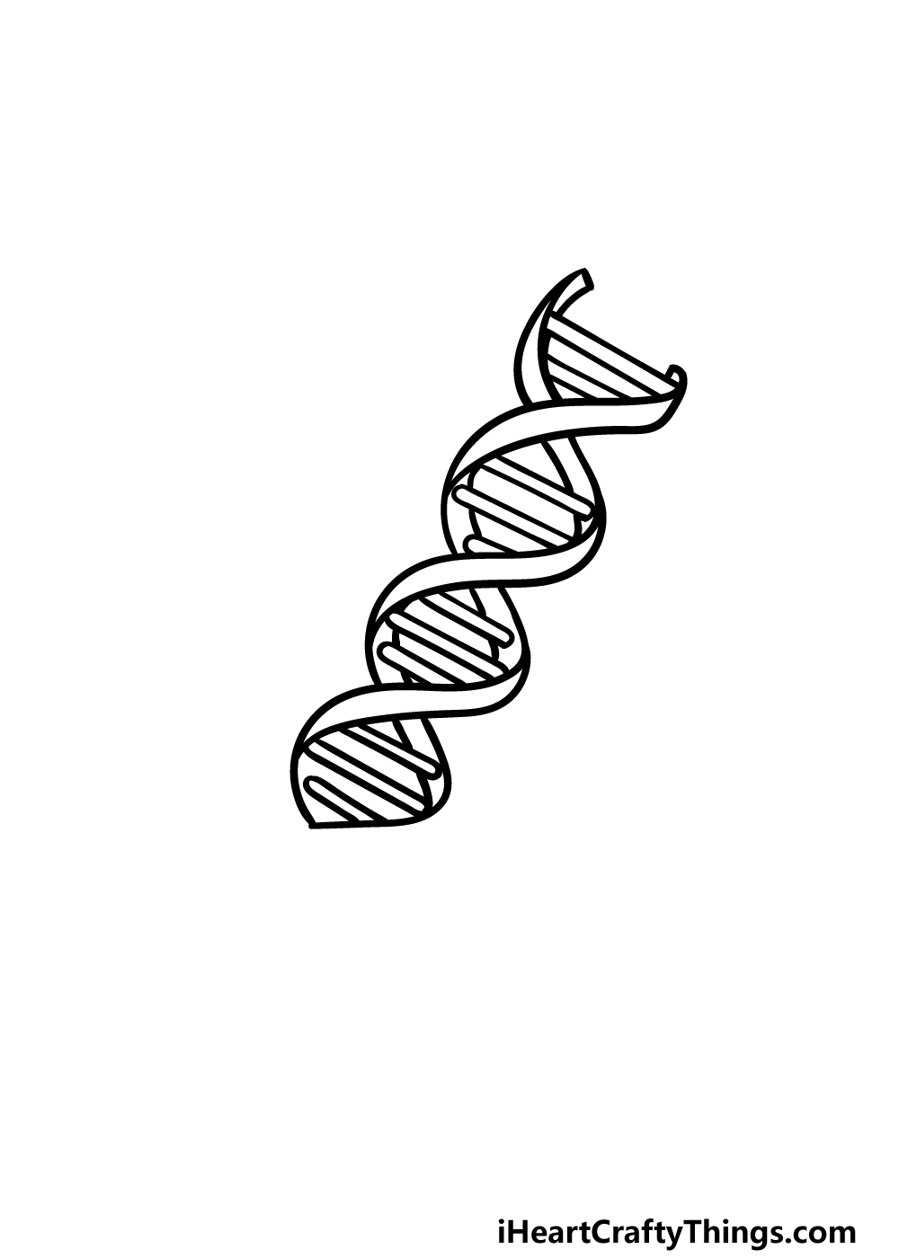 drawing DNA step 3