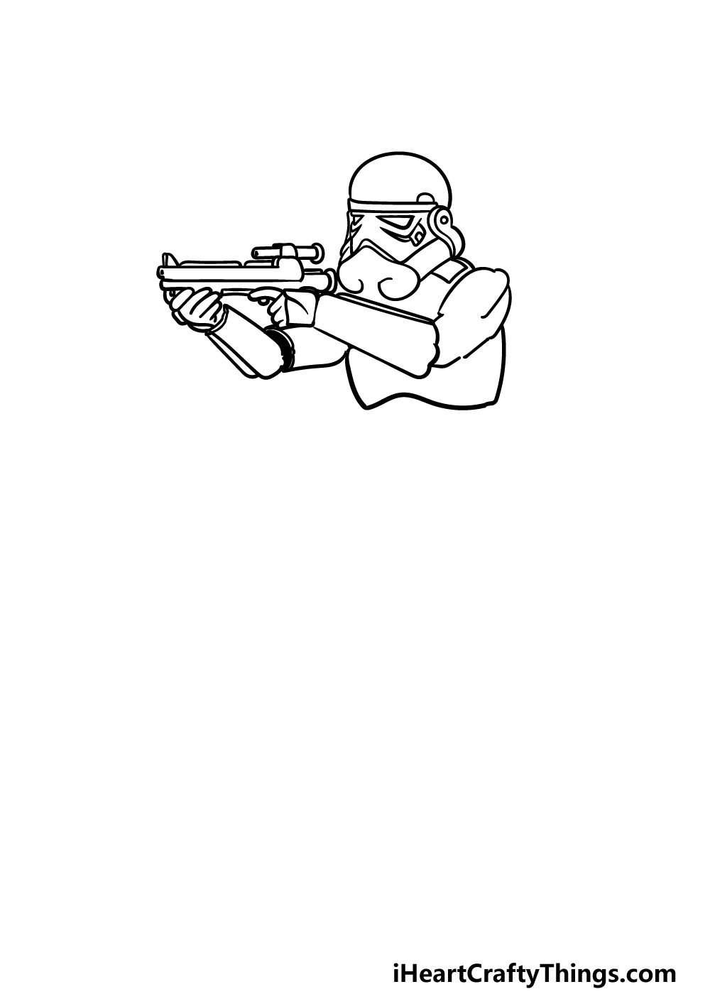 drawing a Stormtrooper step 3