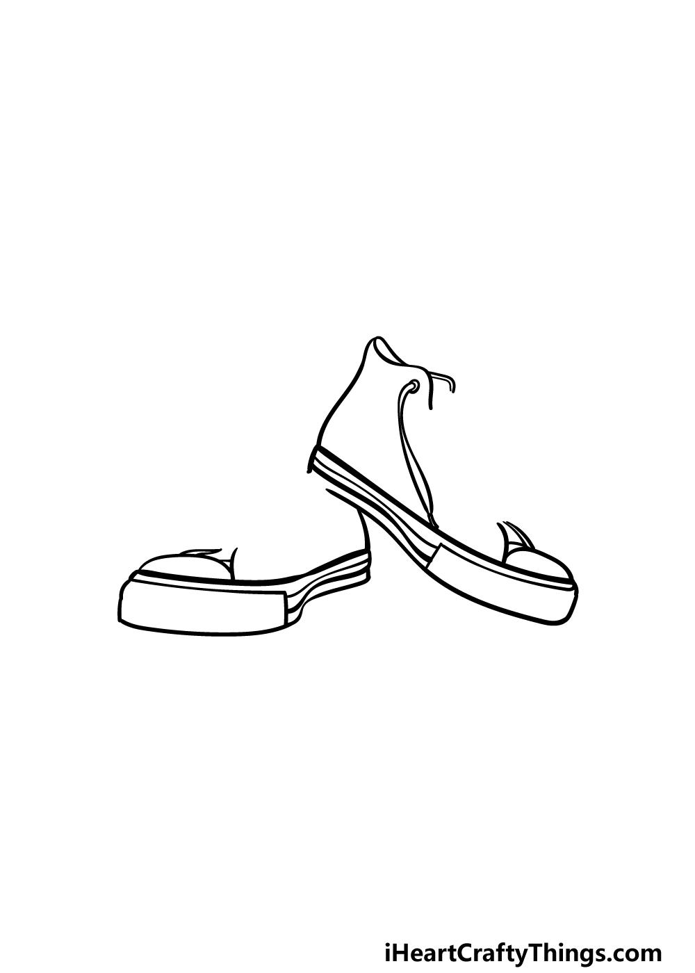 drawing converse step 3