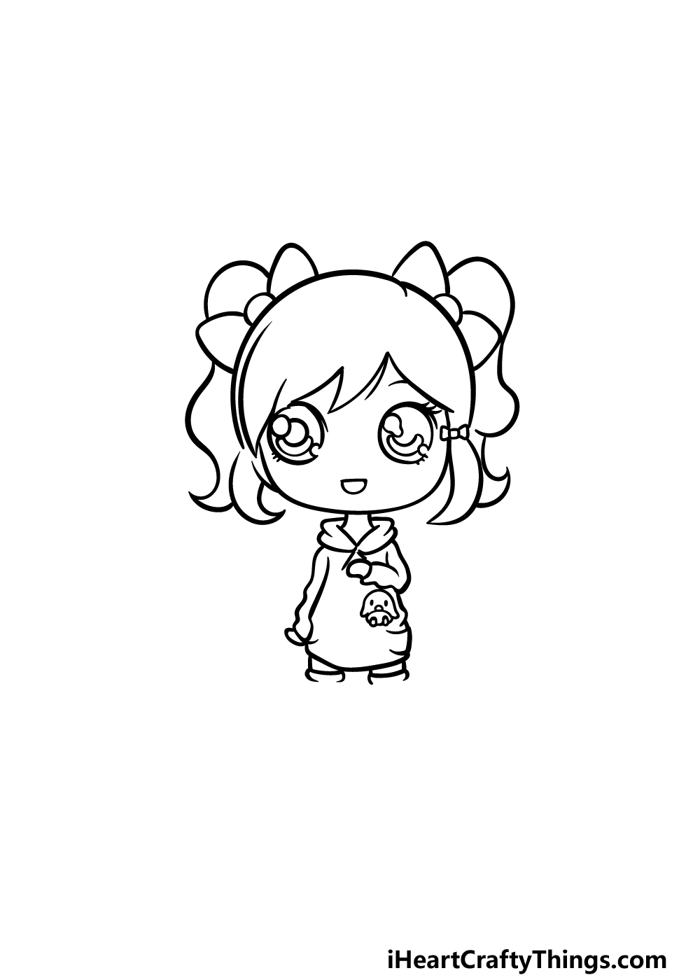 drawing a doll step 4