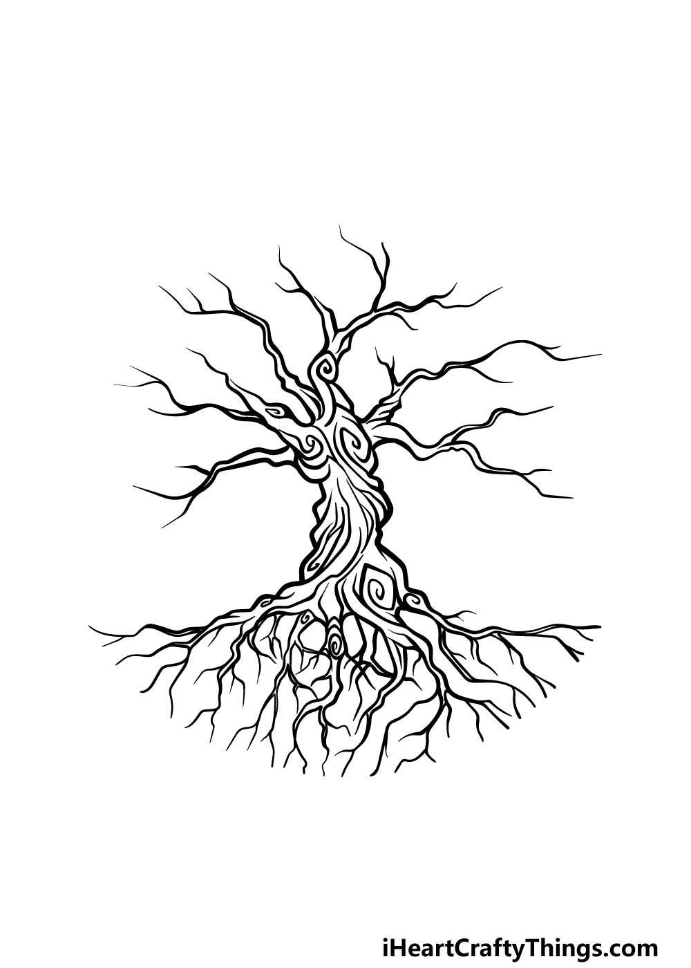drawing the tree of life step 4