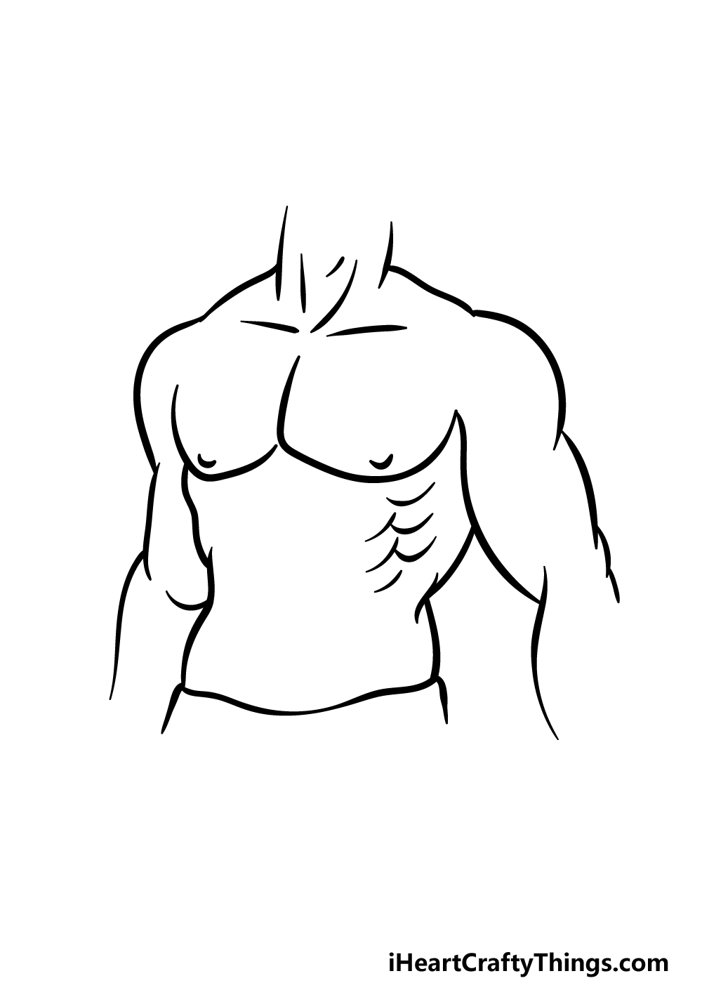 drawing abs step 4