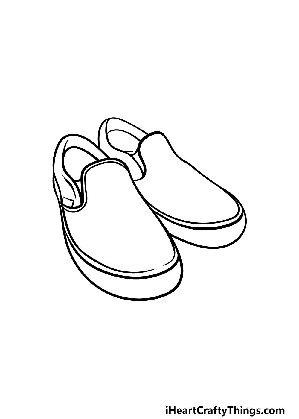 drawing vans shoes step 4