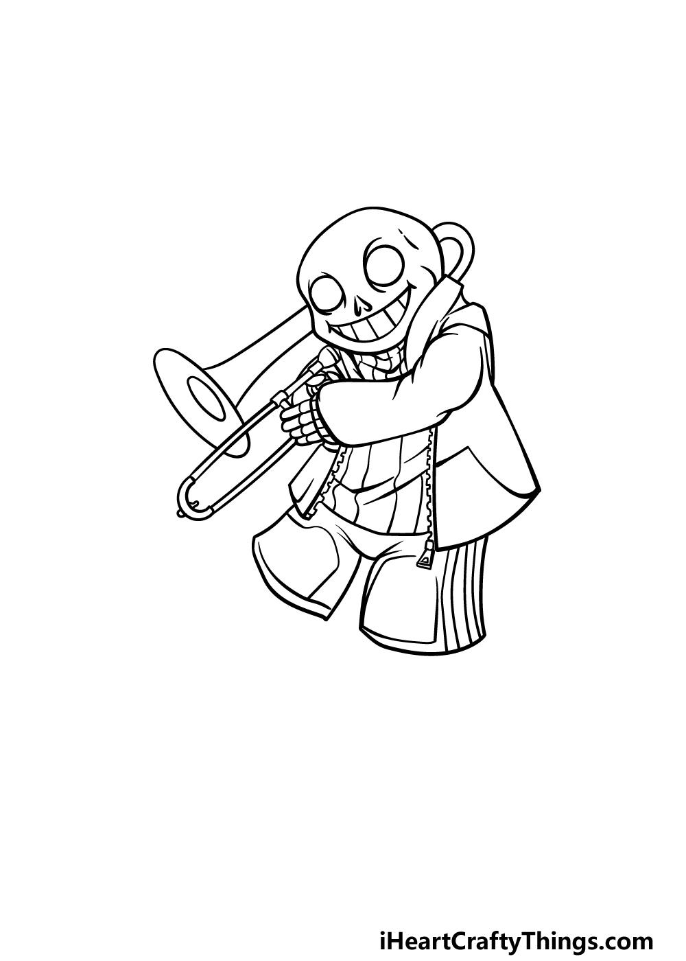drawing Sans step 4