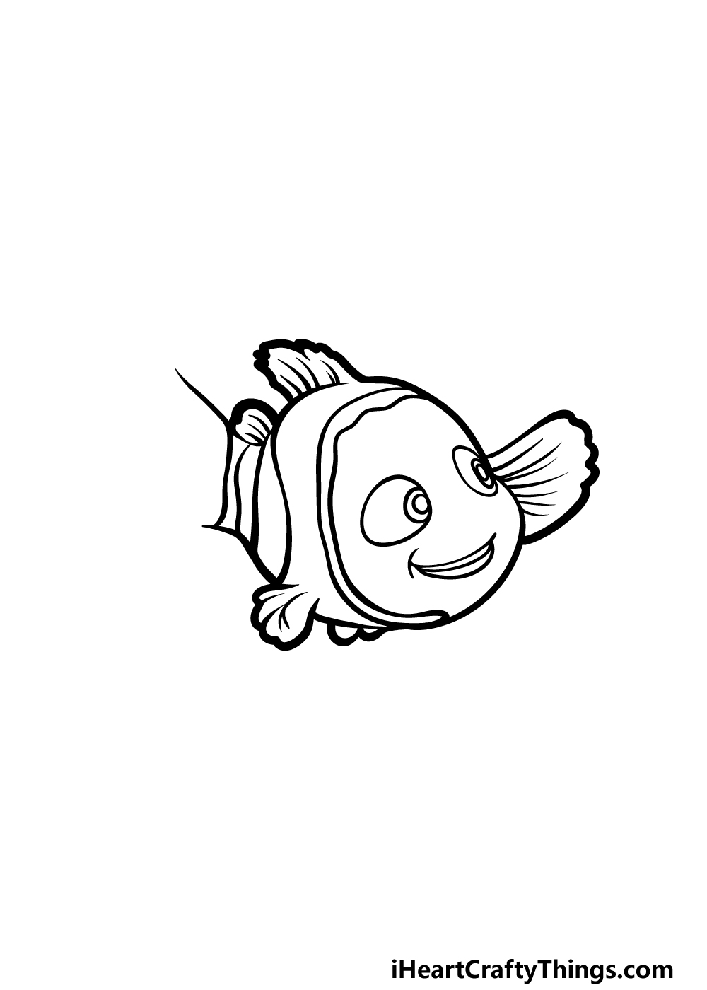 drawing Nemo step 4