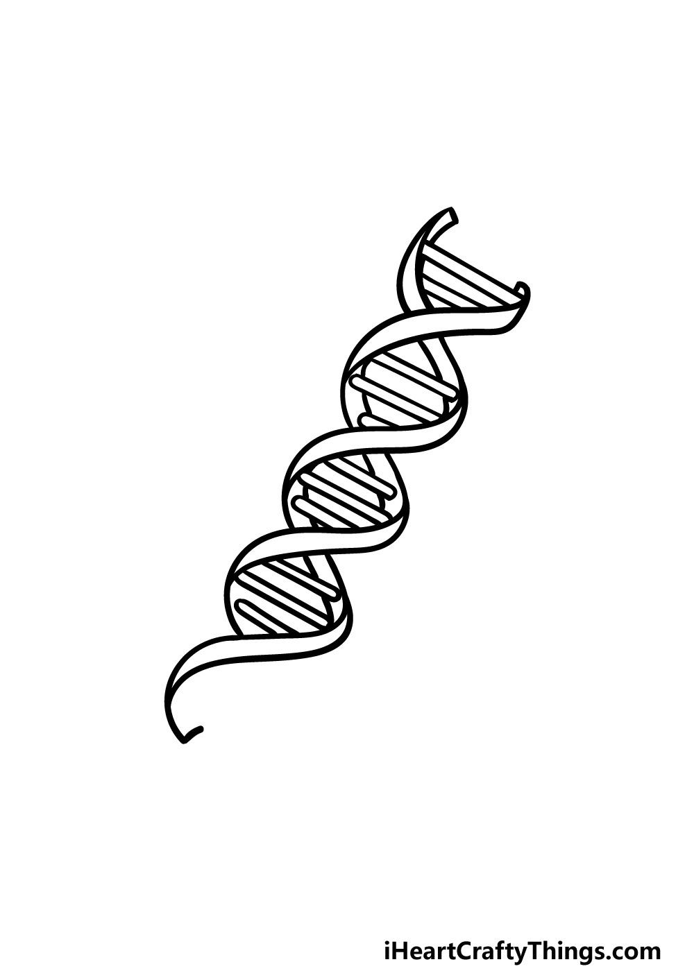 drawing DNA step 4