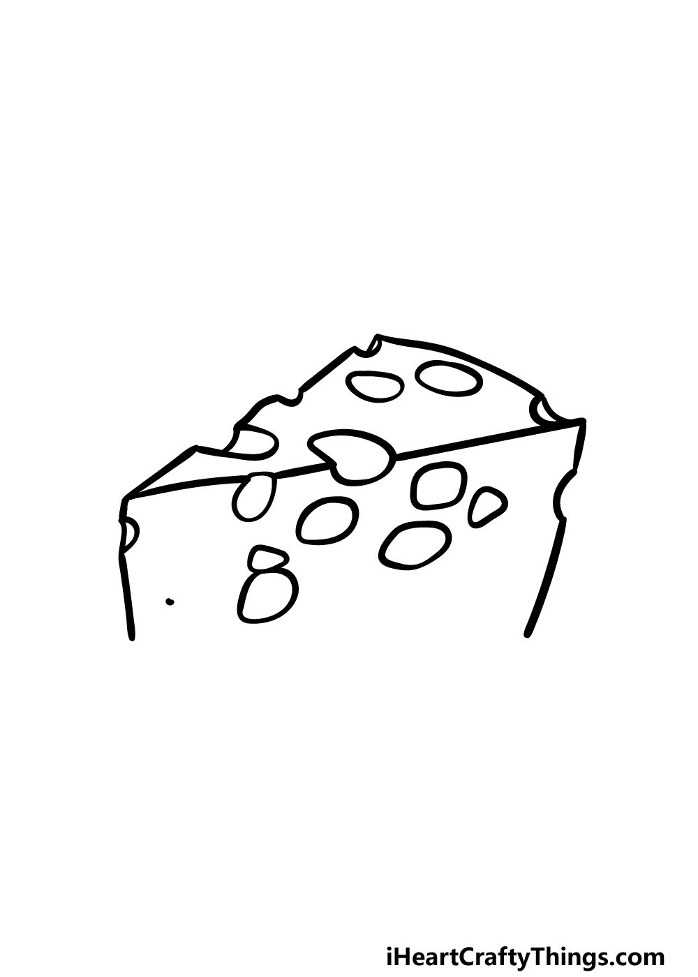drawing cheese step 4