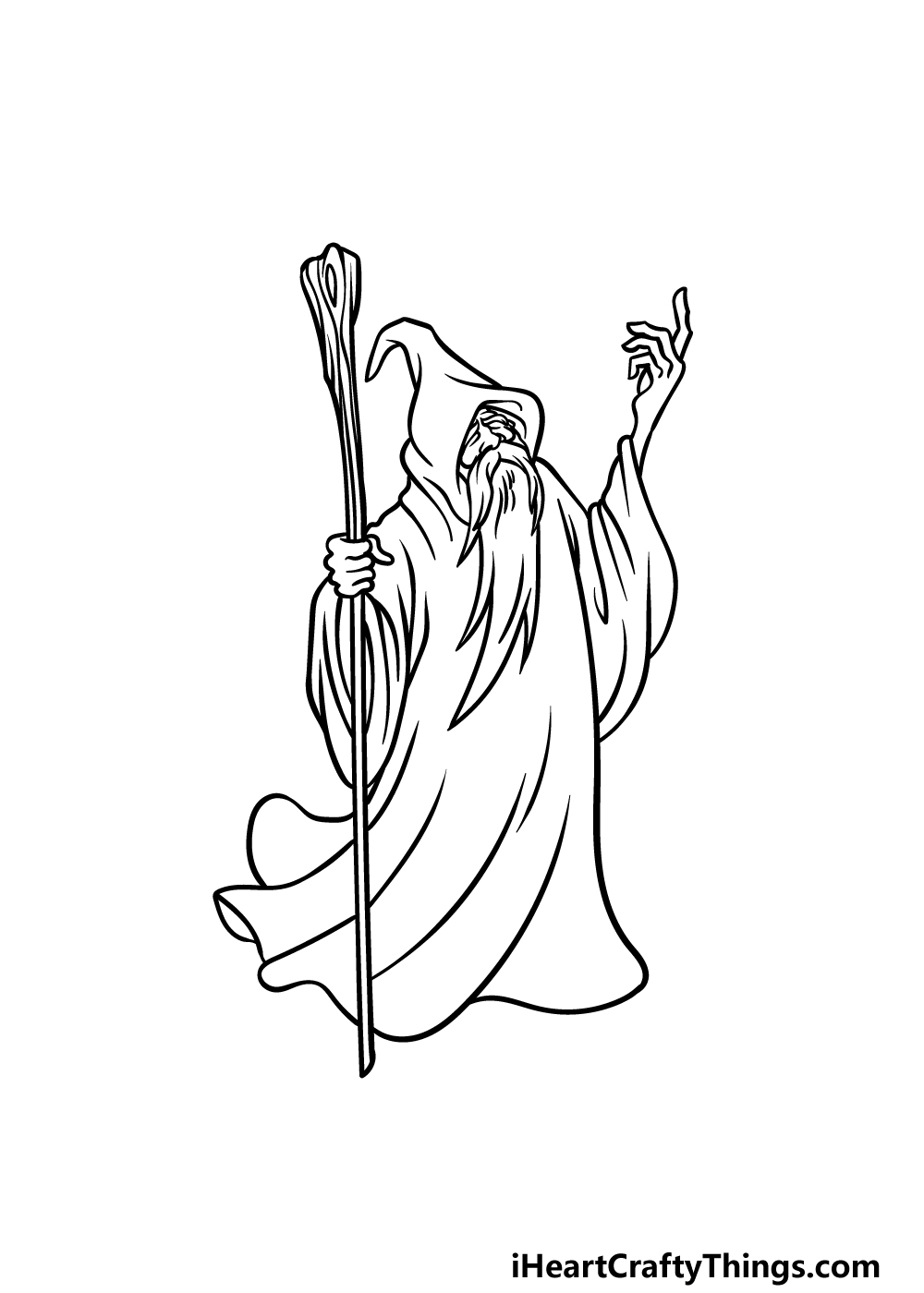 drawing a wizard step 5
