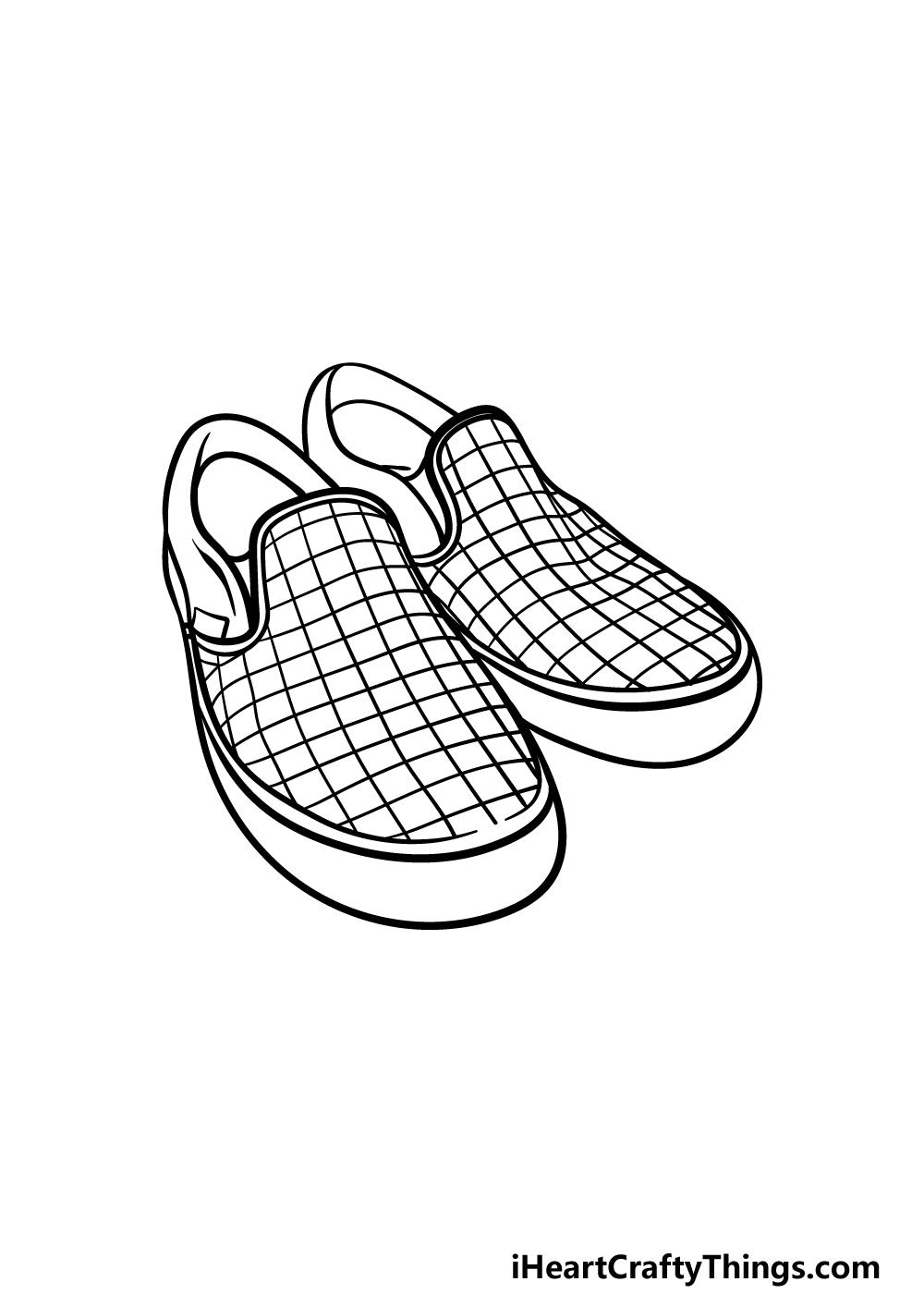 drawing vans shoes step 5