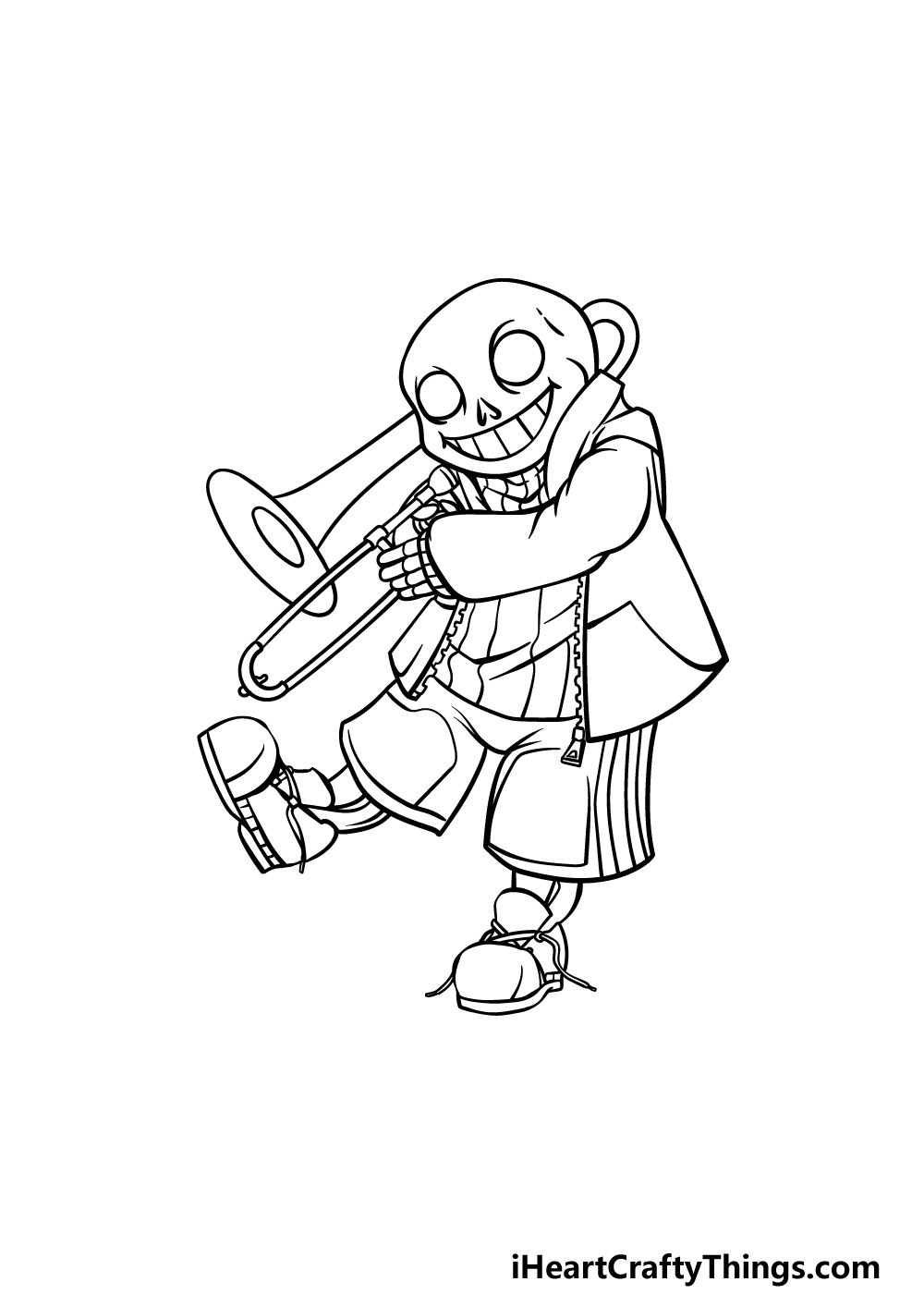 drawing Sans step 5