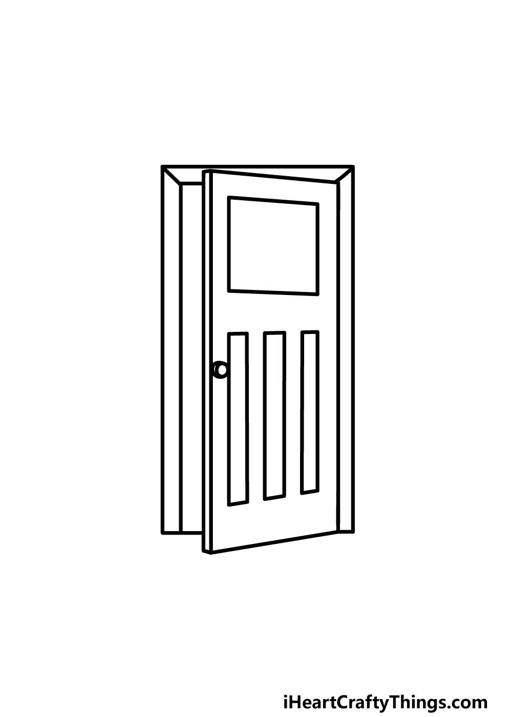 drawing a door step 5