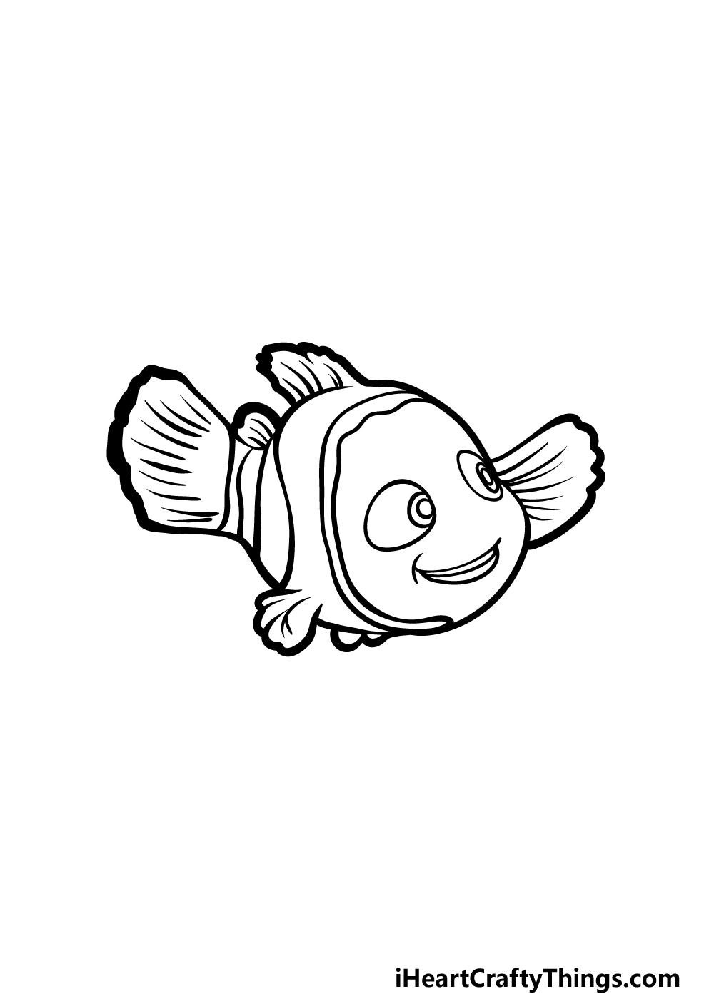drawing Nemo step 5