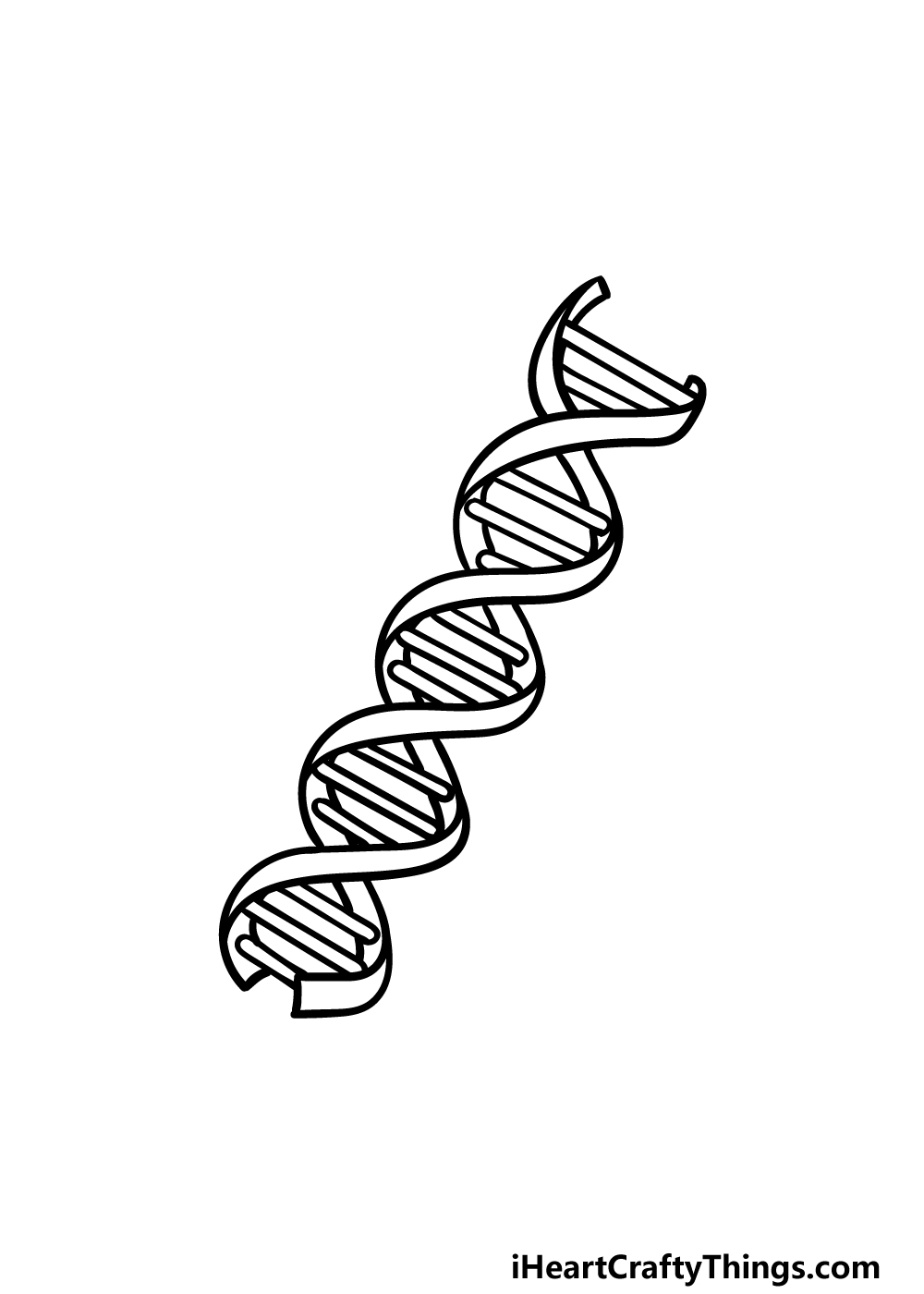 drawing DNA step 5