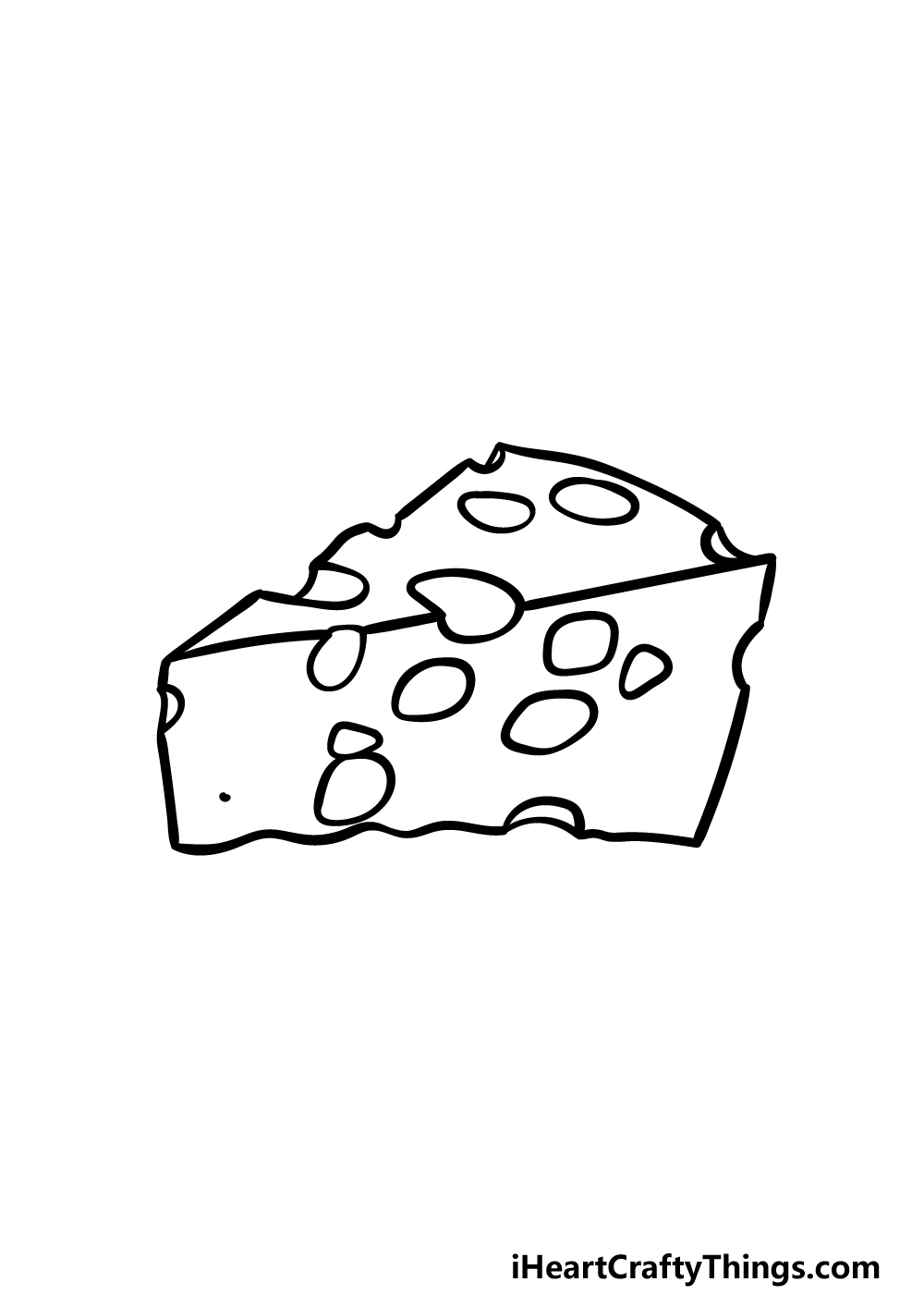drawing cheese step 5