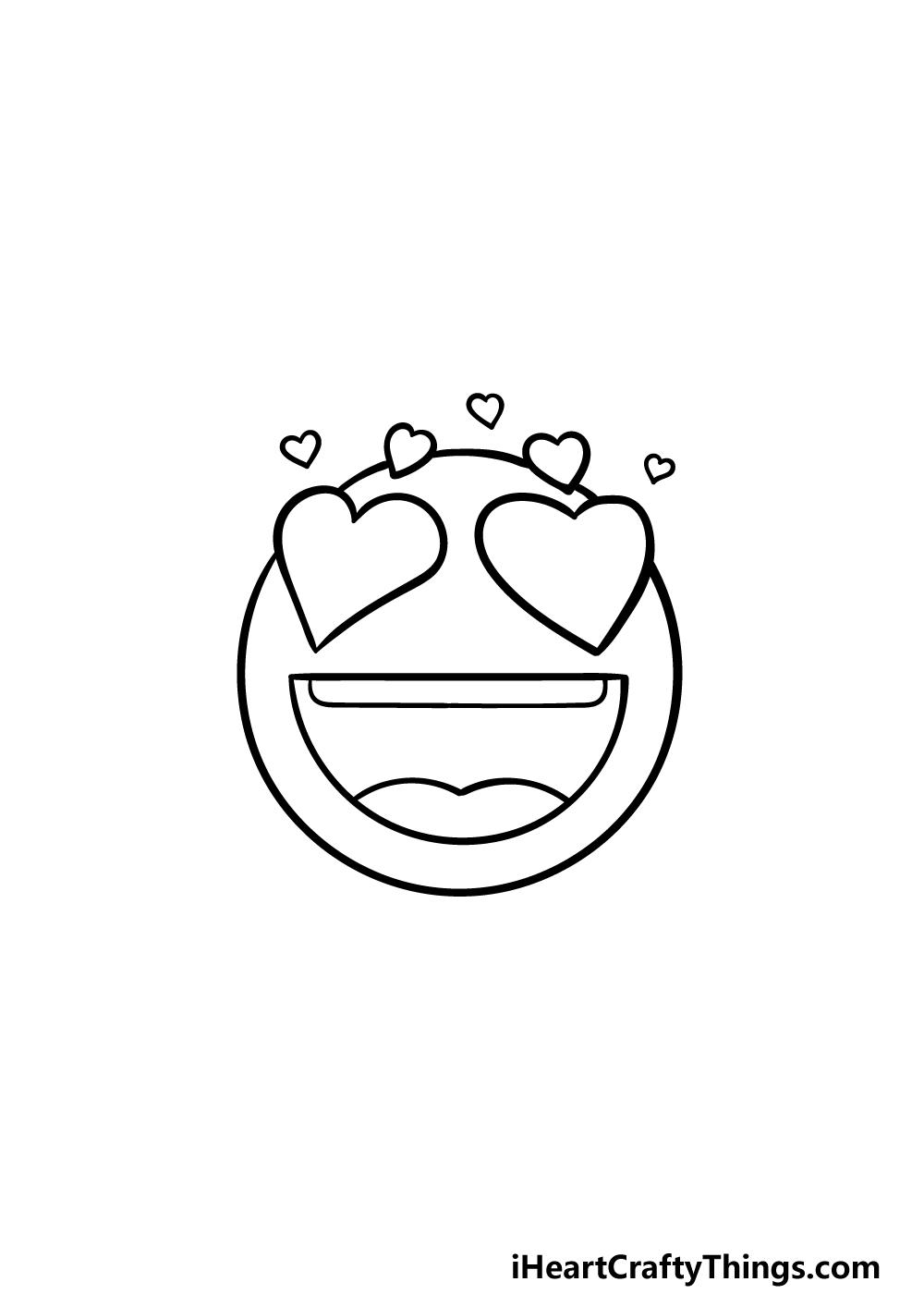 drawing emoji step 5