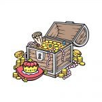how to draw a treasure chest image