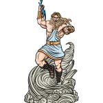 how to draw Zeus image