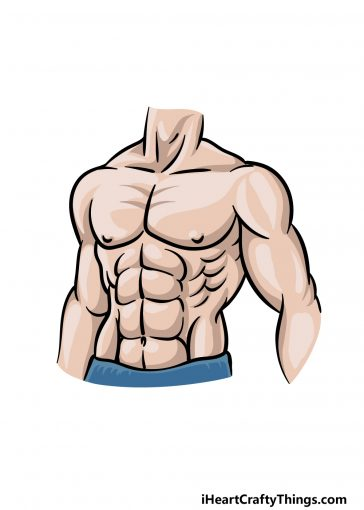 how to draw the abs image