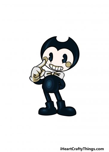 how to draw Bendy image