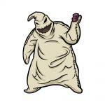 how to draw oogie boogie image