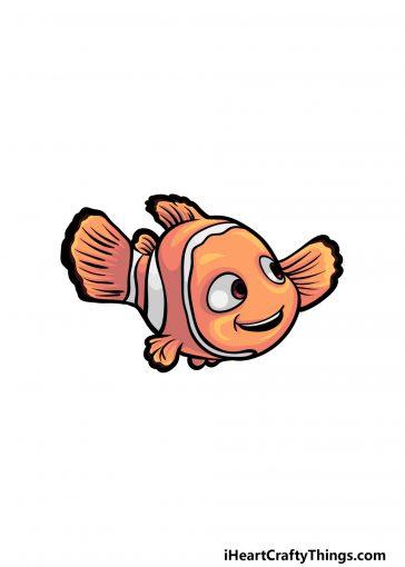 how to draw Nemo image