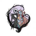drawing Jack and Sally image