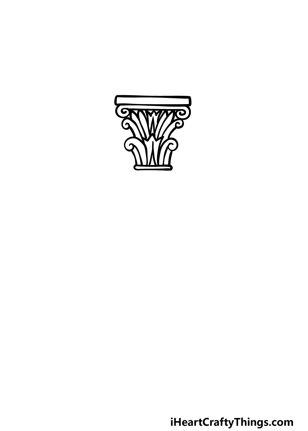drawing a vase step 1