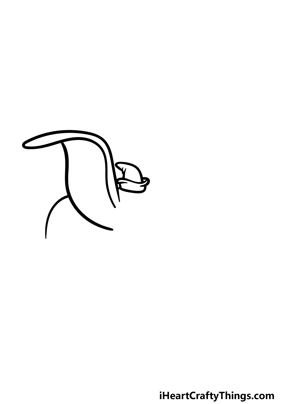 drawing Dumbo step 1