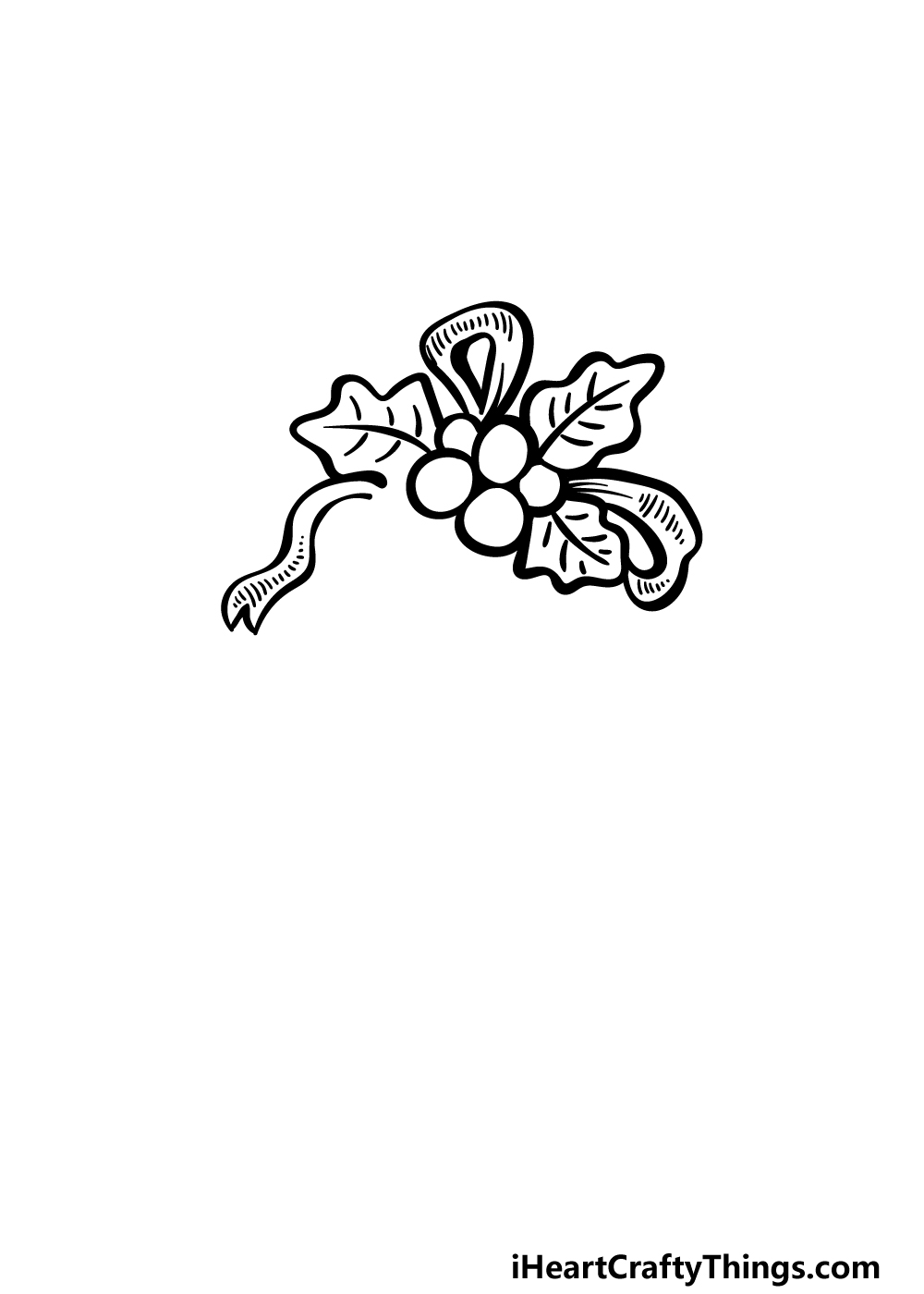 an ornament drawing step 2
