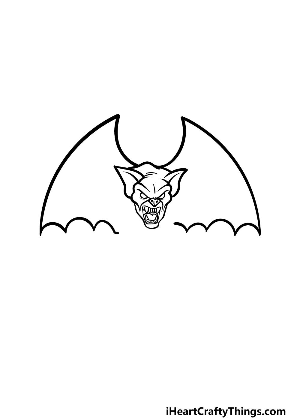drawing Gargoyle step 2