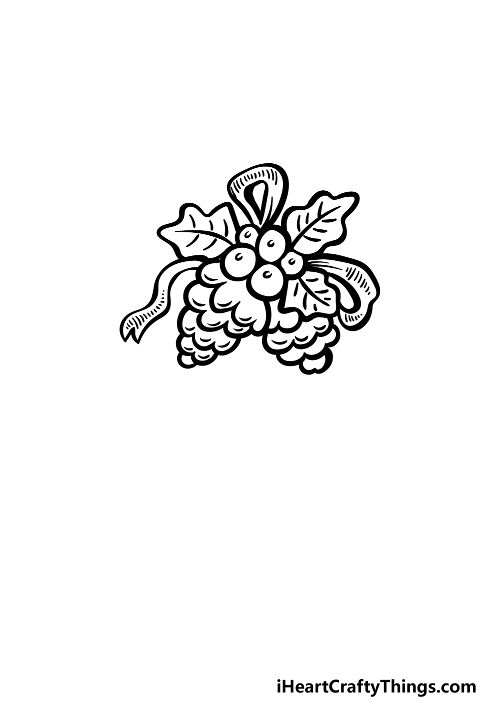 an ornament drawing step 3