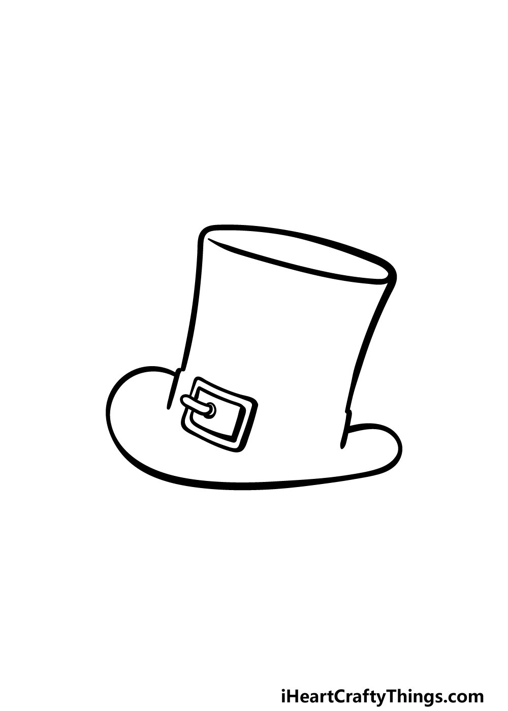 drawing top hat step 3