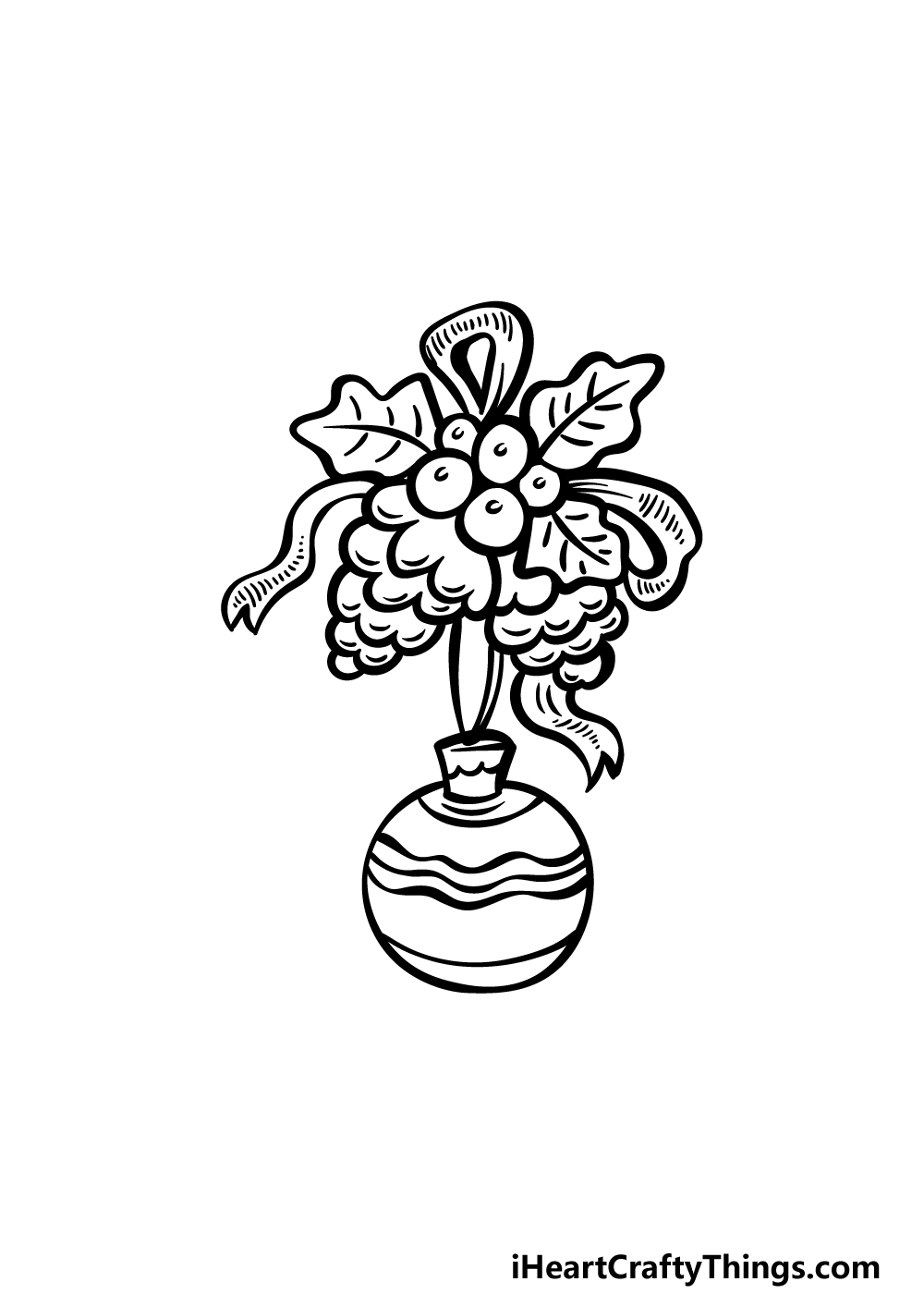 an ornament drawing step 4