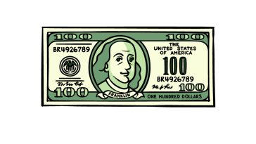 how to draw a Dollar Bill image